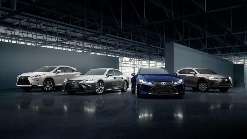 Lexus, il lusso che piace: 10 milioni di auto vendute