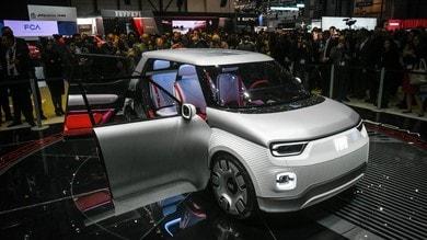 Fiat Centoventi Concept, a Ginevra l'elettrico personalizzabile