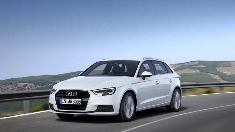 Audi A3 Sportback g-tron, 130 cv e 400 km a metano