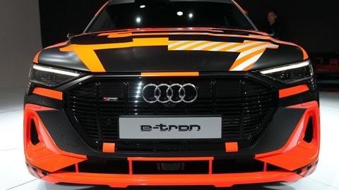 Audi e-tron Sportback: foto