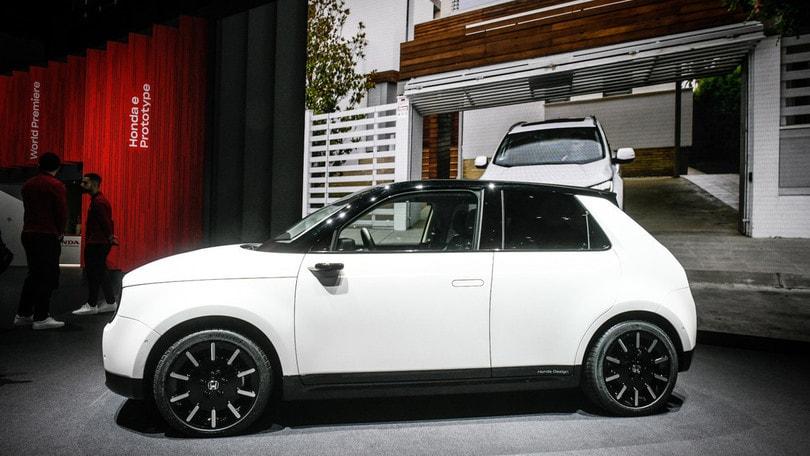 Honda, solo auto elettriche e ibride in Europa dal 2025