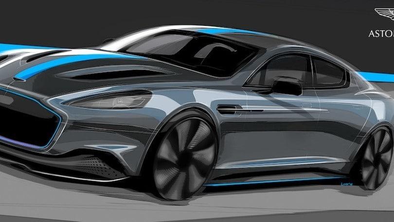 Aston Martin Rapide E: l'auto 007 di James Bond