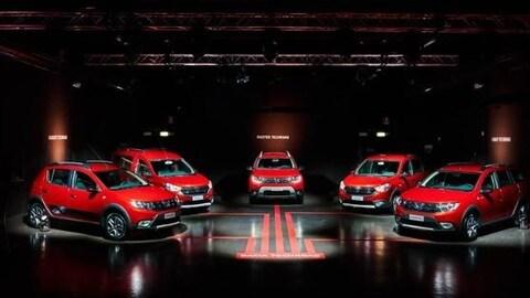 Dacia Techroad: la serie speciale si veste di rosso FOTO