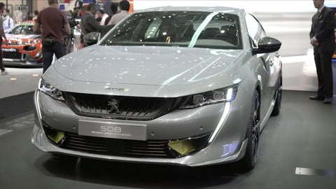 Salone di Ginevra 2019: Peugeot 508 Sport Engineered