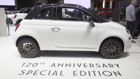 Fiat 500: 120esimo anniversario, che musica a Ginevra