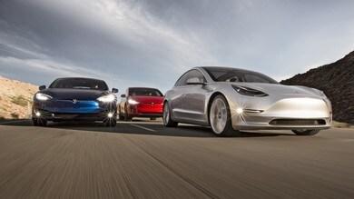 Tesla, la gamma è S 3 X Y
