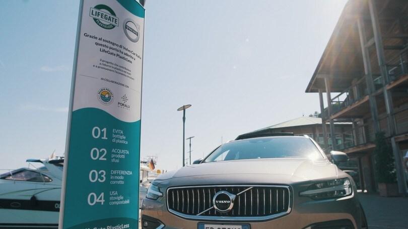 Volvo, cresce il sostegno a LifeGate PlasticLess