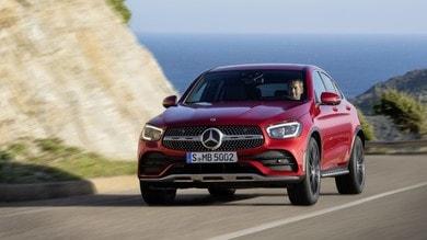 Mercedes GLC Coupé, il restyling con gli EQ Boost