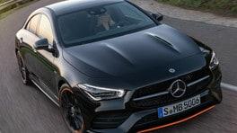 Nuova Mercedes CLA Coupe, la sportiva sicura