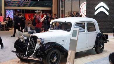 Citroën Traction Avant, design italiano dal tocco femminile
