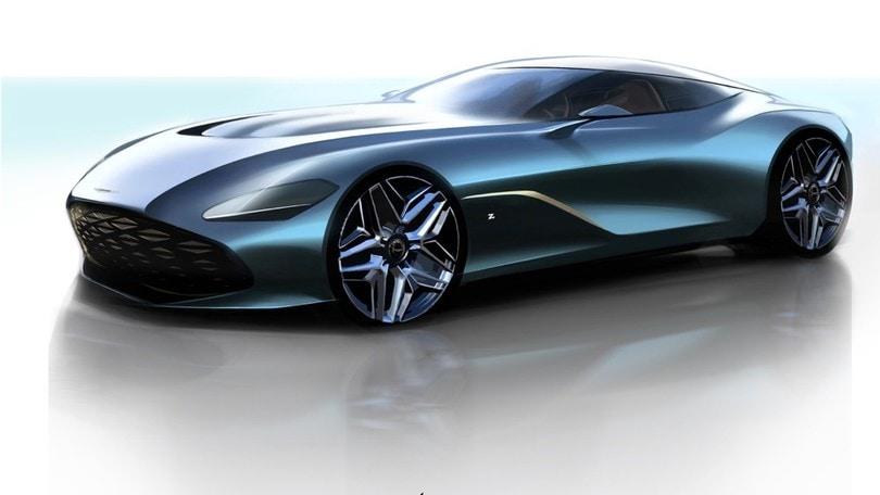Aston Martin DBS GT Zagato, la coupé per i cento anni