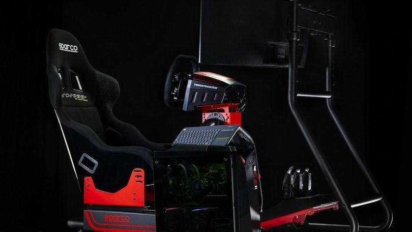 Sparco Sim Rig, il simulatore di guida definitivo