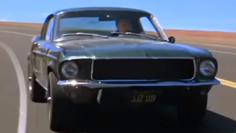 """I 50 anni di """"Bullitt"""" e la sua Ford Mustang"""