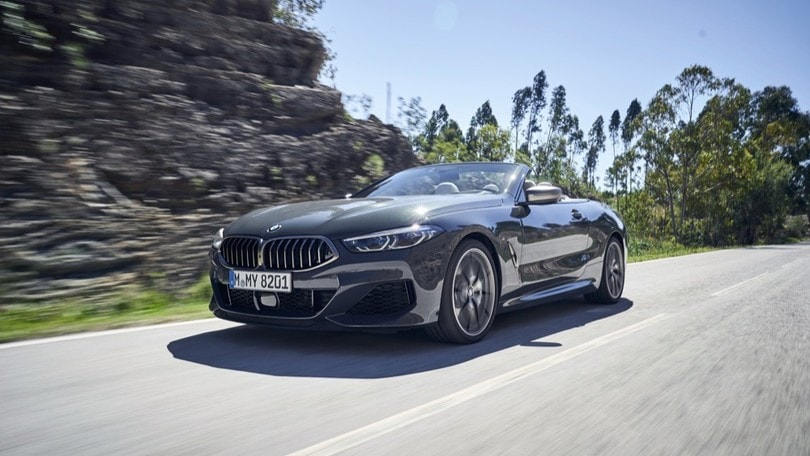 BMW Serie 8 Cabrio, la prova
