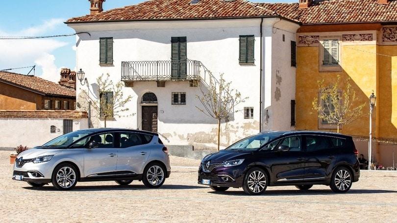 Renault Scenic: 1.7 Blue dCi da 120 e 150 CV, anche su Grand Scenic