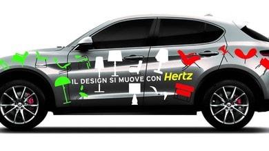 Hertz alla Milano Design Week con Alfa Romeo, Abarth, Fiat e Maserati