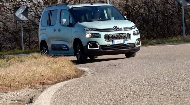 Citroen Berlingo Blue HDI: il test su strada VIDEO