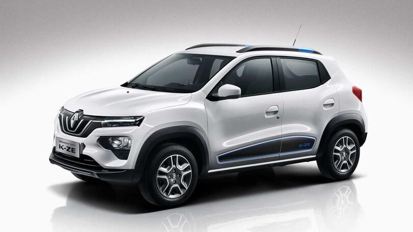 Renault CITY K-ZE, il mini crossover elettrico