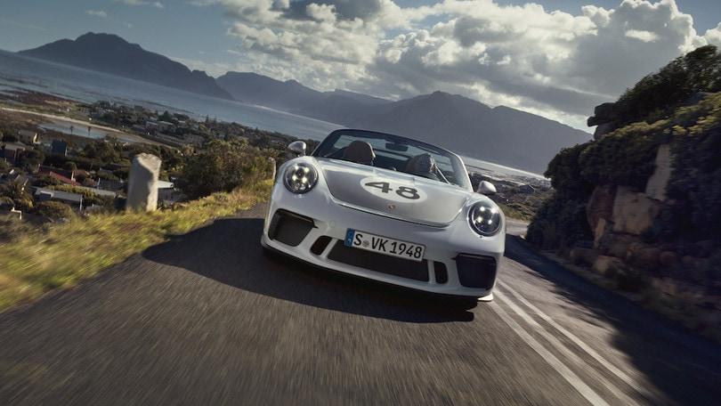 Porsche 911 Speedster celebra l'Heritage