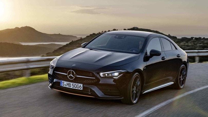 Mercedes CLA Coupé, la prova