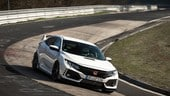Honda Civic Type R, prove di Nurburgring Edition?