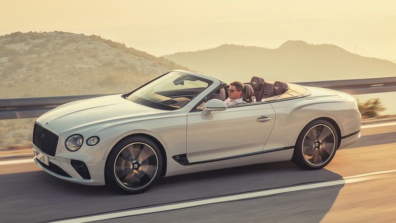 Bentley Continental GT Convertible: VIDEO
