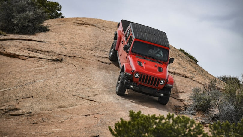 Jeep Gladiator, la prova