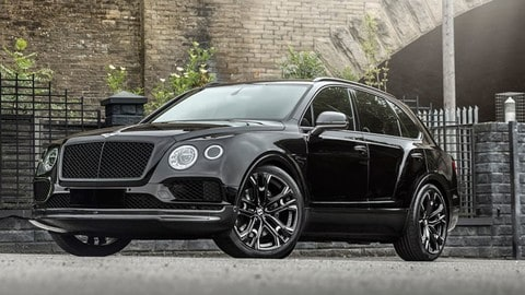 Bentley Bentayga by Khan Design: foto