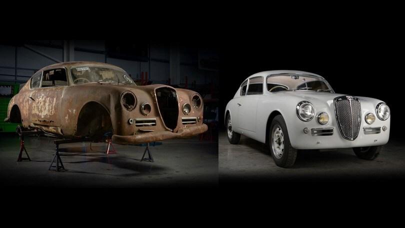 Lancia Aurelia B20 GT, restauro per la Mille Miglia