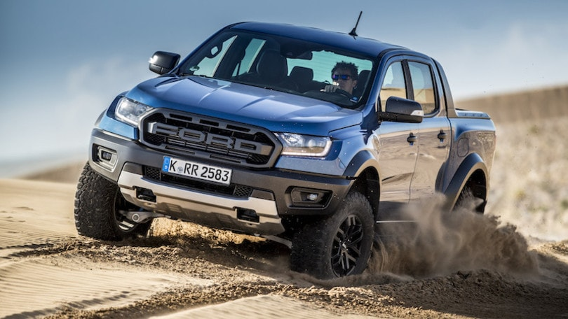 Ford Ranger Raptor: la prova
