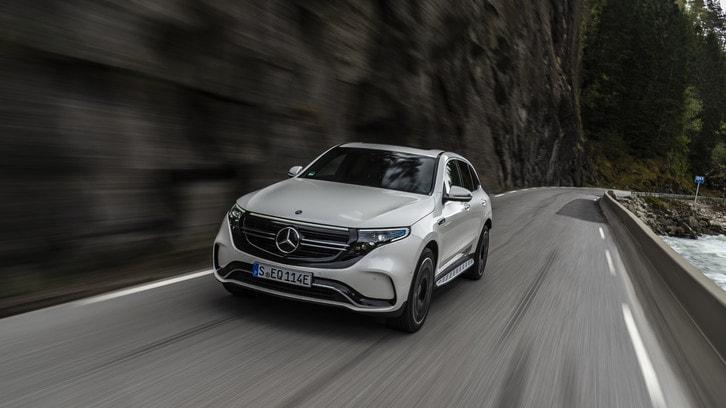 Mercedes-Benz EQC: la prima Stella elettrica