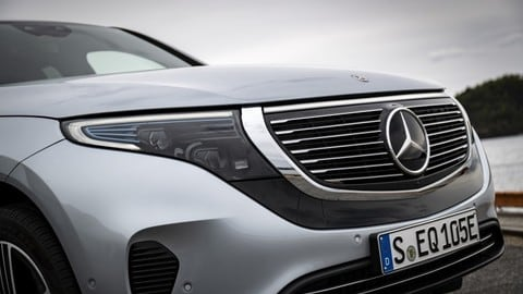 Nuova Mercedes EQC: il suv elettrico EQ VIDEO