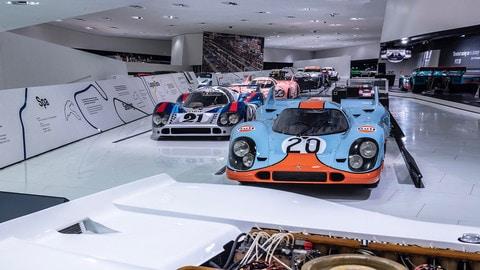Porsche 917, il mito in una mostra: FOTO