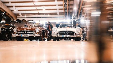 Mercedes alla Mille Miglia 2019: le foto