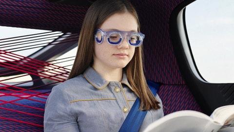 Citroën i nuovi occhiali conto il mal d'auto - FOTO