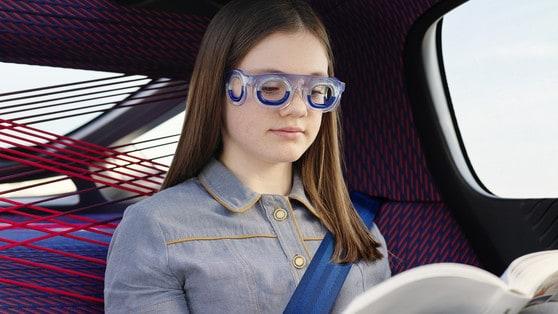 Citroën: ecco i nuovi occhiali contro il mal d'auto