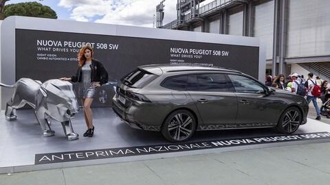 Peugeot 508 agli Internazionali BNL di Roma: VIDEO