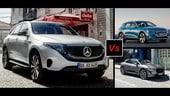 Audi e-tron, Jaguar i-Pace, Mercedes EQC: SUV elettrici a confronto