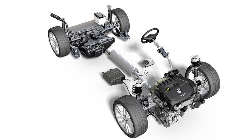 volkswagen golf 8 il mild hybrid aiuta consumi e. Black Bedroom Furniture Sets. Home Design Ideas