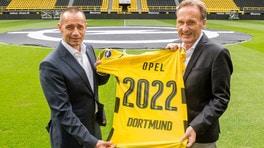 Opel è sponsor del Borussia Dortmund FOTO