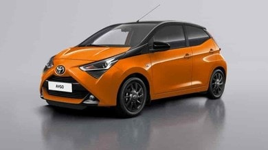 Toyota Aygo Connect, connessione a pay per drive