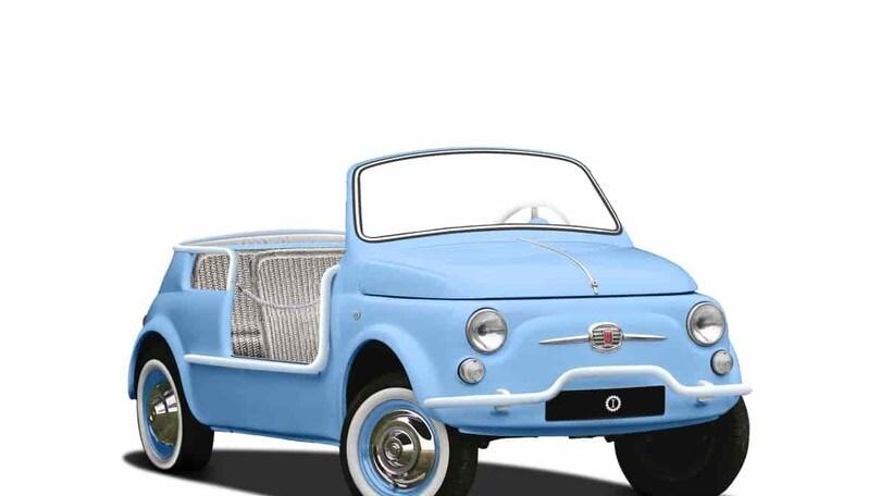 Fiat 500 Jolly Icon-e Garage Italia: Foto