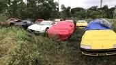 Ferrari, undici supercar abbandonate in Texas
