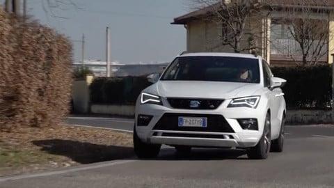 Seat Ateca TDI FR: la prova della 2.0 4Drive DSG VIDEO