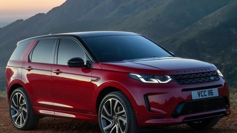Land Rover Discovery Sport 2020: foto
