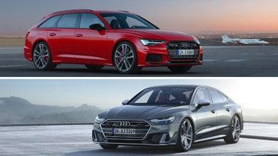 Audi S6 Avant e S7 Sportback: la prova