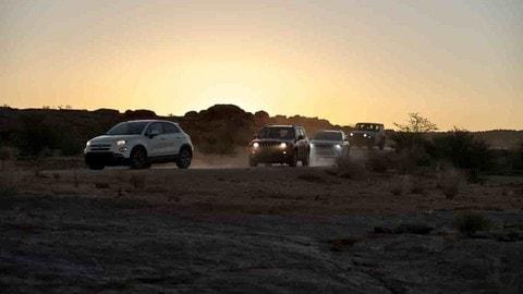 FCA What's Behind, nel deserto del Kalahari FOTO