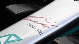 Il ricordo della F1 per Lauda nelle livree speciali FOTO