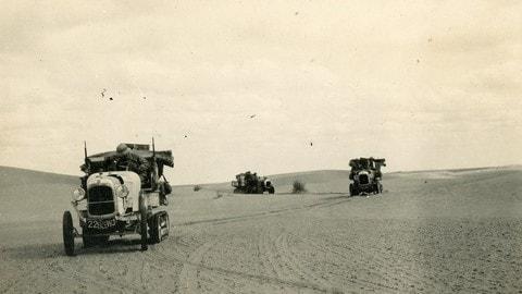 Citroen B2 Type nella traversata del deserto FOTO