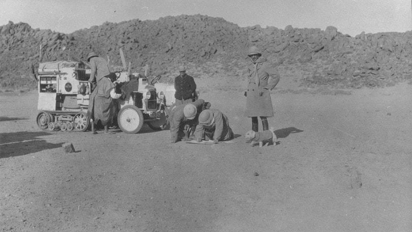 Citroen, con la B2 Type nella traversata del deserto